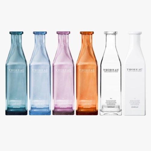 Flasker i pleksiglass